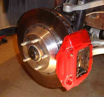 How To Flare A Brake Line >> Big Brake Install