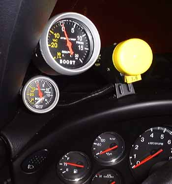 Boost Gauges on Fram Fuel Filters In Line