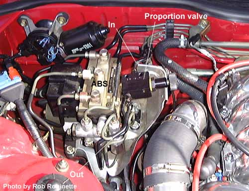 brake proportioning valve install before you remove any of the brake line fittings carefully clean all around them so that dirt can t get into the system as the fittings are opened