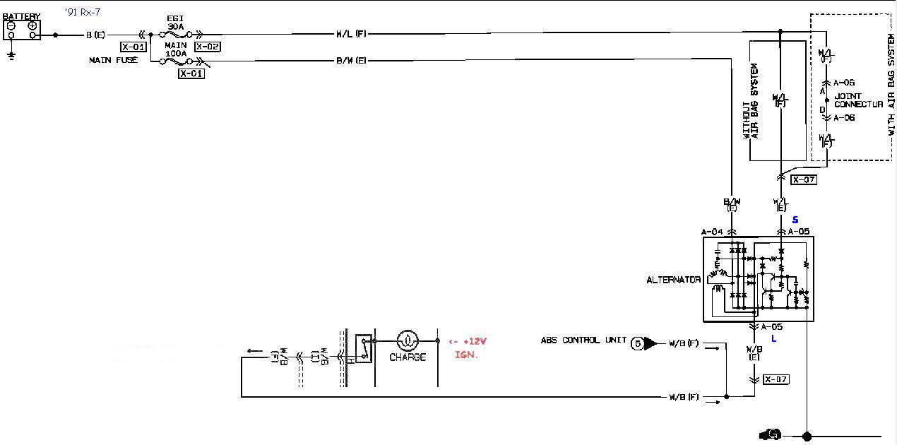 altsys91 rx 7 alternator cross reference and swap chart 82 rx7 wiring diagram at beritabola.co
